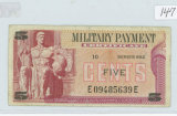 SERIES 692 - 5 CENT MILITARY PAYMENT CERT.