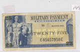SERIES 692 - 25 CENT MILITARY PAYMENT CERT.