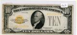 SERIES 1928 - TEN DOLLAR GOLD NOTE
