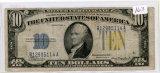 SERIES 1934-A TEN DOLLAR SILVER CERTIFICATE