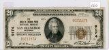 SERIES 1929 TWENTY DOLLAR