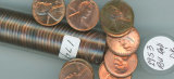 1-ROLL - 50 COINS 1953 LINCOLN CENTS