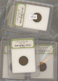 LOT OF 10 - 1940'S LINCOLN CENTS