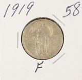 1919 - STANDING LIBERTY QUARTER - F