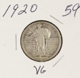 1920 - STANDING LIBERTY QUARTER - VG