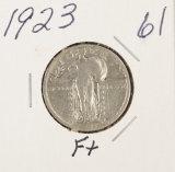 1923 - STANDING LIBERTY QUARTER - F
