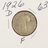 1926-D STANDING LIBERTY QUARTER- F