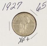 1927 - STANDING LIBERTY QUARTER - XF+