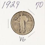 1929 - STANDING LIBERTY QUARTER - VG