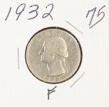 1932 - WASHINGTON QUARTER - F
