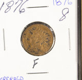 1876  - INDIAN HEAD CENT - F