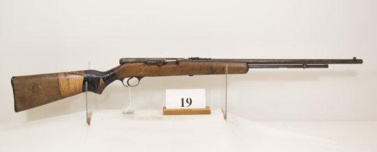Springfield, Model 87A, Semi Auto Rifle, 22 cal,
