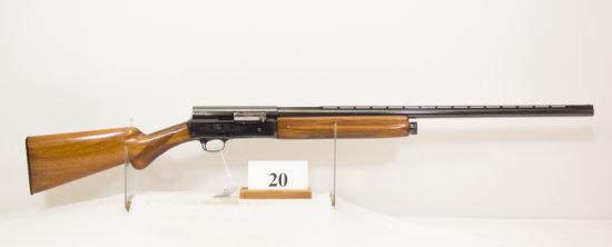 Browning, Model A5, Semi Auto Shotgun, 12 ga,