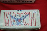 1 Box of 50, Olin Match 45 Ball M1911 230 gr