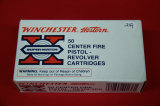 1 Box of 50, Winchester Super Match 38 spl