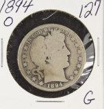 1894-O BARBR HALF DOLLAR - G