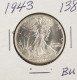 1943 - WALKING LIBERTY HALF DOLLAR  - UNC