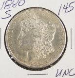 1880-S MORGAN DOLLAR - UNC