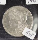 1881-S MORGAN DOLLAR - AU