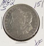 1882-S MORGAN DOLLAR - XF