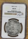 1885 0 NGC MS64 - MORGAN DOLLAR