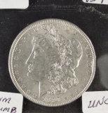 1890 - MORGAN DOLLAR - UNC - RIM BUMP