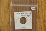 1912  -$ 2 1/2 GOLD PIECE