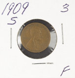 1909-S  LINCOLN CENT - F