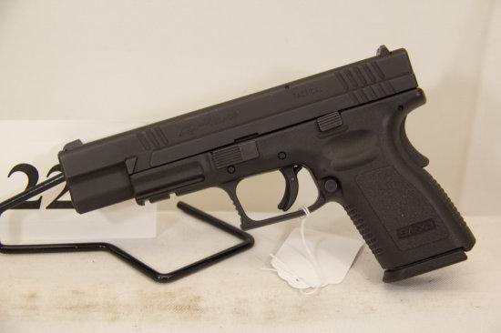 Springfield, Armory, Model XD, Semi Auto Pistol,