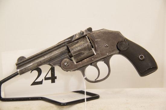 U.S. Model Tip Up, Revolver, 38 cal, S/N 47672