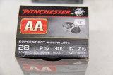 1 Box of 25, Winchester, AA, 28 ga, 2 3/4