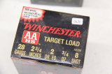 1 Box of 25, Winchester, AAHS, Target Load, 28 ga,