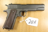 Colt, Model 1911, US Army, Semi Auto Pistol,