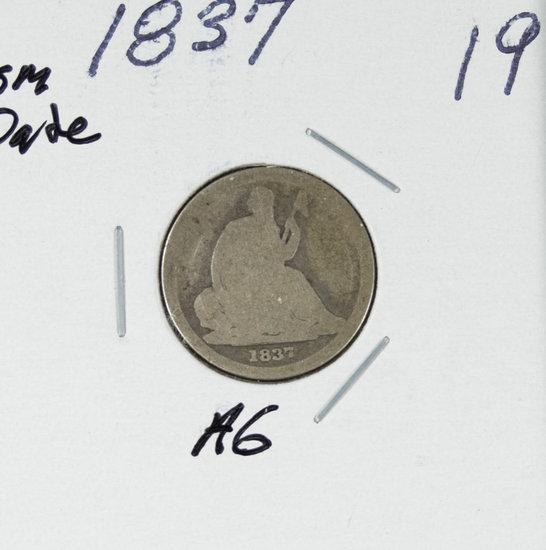 1837 - SEATED LIBERTY DIME