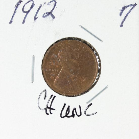 1912 - LINCOLN CENT - UNC