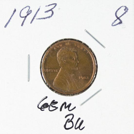 1913 - LINCOLN CENT - UNC