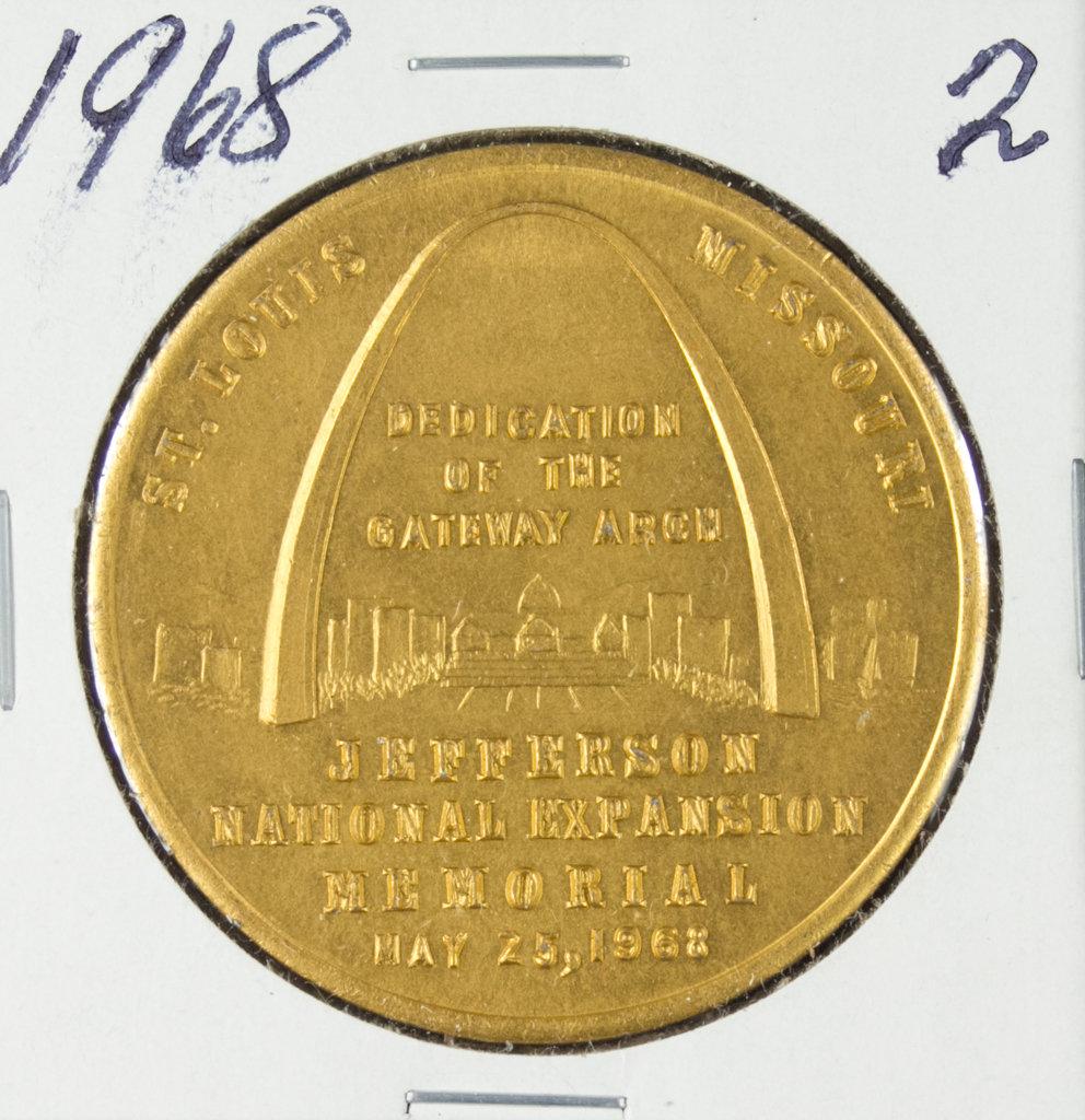 1968 ARCH DEDICATION TOKEN