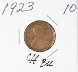1923 - LINCOLN CENT - UNC