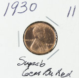 1930 - LINCOLN CENT - GEM BU