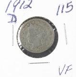 1912-D LIBERTY HEAD