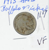 1913  - TYP II BUFFALO NICKEL