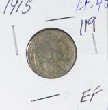 1915 - BUFFALO NICKEL - EF