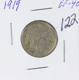 1919 - BUFFALO NICKEL - EF