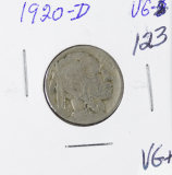 1920-D  BUFFALO NICKEL - VG+