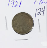 1921 - BUFFALO NICKEL - F