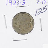 1923-S BUFFALO NICKEL - F