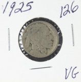 1925 - BUFFALO NICKEL - VG