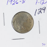 1926-S BUFFALO NICKEL - F