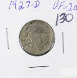 1927-D BUFFALO NICKEL -VF