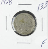1928 - BUFFALO NICKEL - F